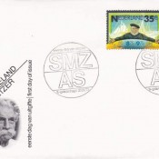 Albert Schweitzer FDC Hollandia