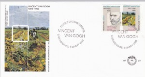 Van Gogh FDC Hollandia