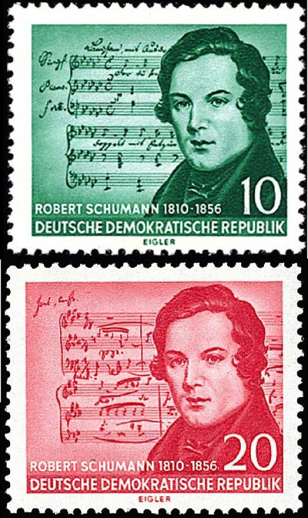 GDR_stamp_Robert_Schumann_1956-vertical